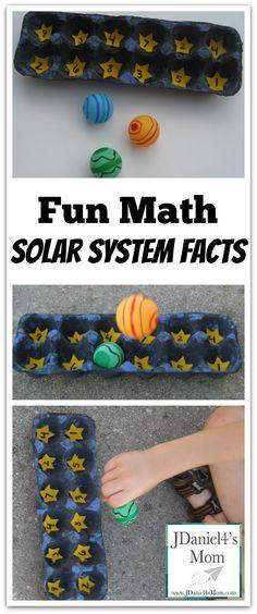 Math Fun- Solar System Facts