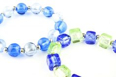 Bransoletki - szkło weneckie - lampwork glass bracelets http://corallia.pl/bransoletki/bransoletki-szklo-weneckie.html#.VNnt5C7Hg2g