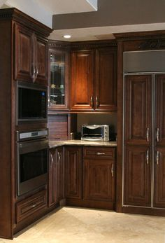 1000 images about kitchen renovations on pinterest for Bristol chocolate kitchen cabinets