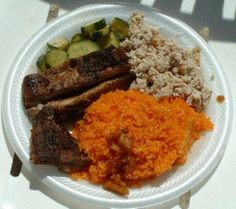 Chamorro Red Rice--one of the things i actually miss from Saipan. Almost as good as my sister-in-laws rice.