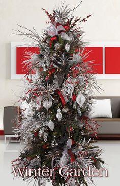 Melrose Designer Christmas Tree 2013: Winter Garden