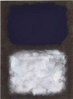 Mark Rothko (1903-1970), Black, White, Blue