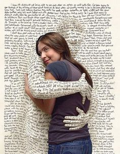 Hug from a book