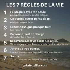 Quotes and inspiration QUOTATION – Image : As the quote says – Description Les 7 règles de la vie. Sharing is love, sharing is everything Vie Positive, Positive Mind, Positive Attitude, Positive Affirmations, Positive Quotes, Life Quotes Love, Change Quotes, Woman Quotes, Sassy Quotes