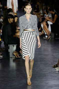 Spring 2015 Is Further Proof of Altuzarra's Star Power: We don't think we've ever seen gingham look quite as sexy as it did on Altuzarra's Spring '15 runway.