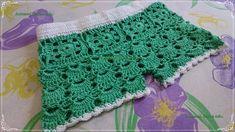 short infantil feito com linha 100% algodão pode ser feito em qualquer tamanho tanto adulto quanto infantil, esse é para uma criança de 4 anos, se gostou da ...