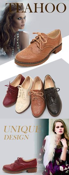 PLUS size 34-43 brogue Oxford shoes women flats new autumn 2015 Fashion women shoes sapatos femininos sapatilhas zapatos mujer > Nice plus size clothing shop for everybody