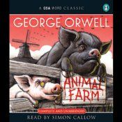 Animal Farm is George Orwell's great socio-political allegory set in a farmyard where the animals decide to seize the farmer's land and create a co-operative that reaps the benefits of their combined labours. However, as with all great political plans, some animals see a bigger share of the rewards than others and the animals start to question their supposed utopia.
