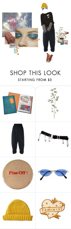 """""""up"""" by flowertattoo ❤ liked on Polyvore featuring Chronicle Books, Crate and Barrel, Dolce&Gabbana, Versace, Jean-Paul Gaultier, Lowie and Converse"""