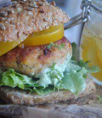 Fish burger   Recept.se