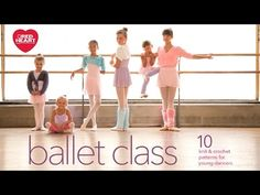 Ballet Class Free Crochet and Knit Pattern eBook | Red Heart