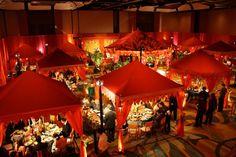 Raq-Tents-Moroccan-Ballroom-transformation-David-Tutera-My-Fair-Wedding-belly-dancing-bride