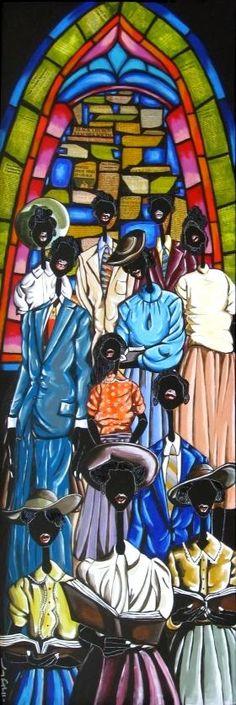 leroy campbell prints | ... Black Art Work and African American Fine Art Prints | Grandpas Art