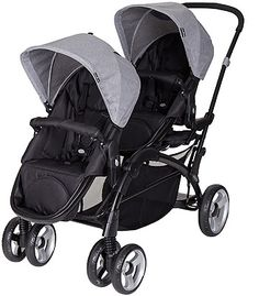 Baby Trend Sit N' Stand Snap Fit Double Stroller - Morning Mist