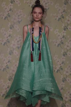 Anthropologie Glimmered Piperita Dress holiday cocktail P Mint Fashion News, Boho Fashion, Womens Fashion, Fashion Design, Tribal Fashion, Bohemian Style, Boho Chic, Bohemian Gypsy, Madame