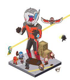 #marvel #marvelcomics #giantman #antman #thewasp #comicwhisperer