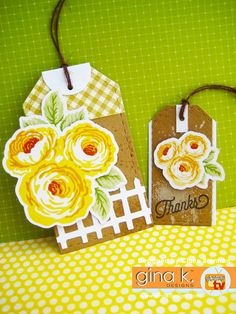Card made with Old Country Roses stamp set, available from Gina K Designs store… Note Cards, Thank You Cards, Stamp Tv, Candy Cards, Card Ideas, Gift Ideas, Clear Stamps, Scrapbooking, Making Ideas