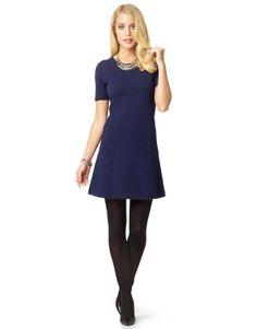CHARMINE kjole mørkblå | Yarn-dyed | Jersey dress | Klänningar | Mote | INDISKA Shop Online