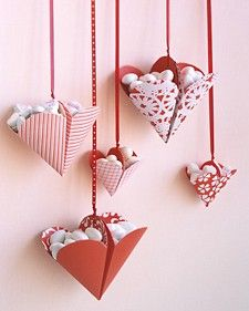 Bonbon filled hearts