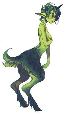 qt green satyr