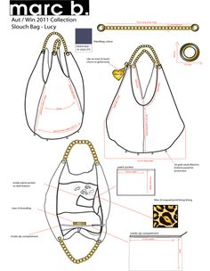 Handbag Designs - erindayedesign