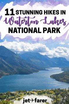 Breathtaking Hikes in Waterton Lakes National Park for All Levels Traveling to Canada? You can't miss these gorgeous hikes in Waterton Lakes National Park! Check out our full list in this post. Canada Travel, Travel Usa, Canada Trip, Alaska Travel, Alaska Cruise, Waterton Lakes National Park, Waterton Park, Alberta Travel, Canada National Parks
