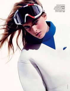 fashion editorials, shows, campaigns & more!: ski pass: ophelie rupp by max cardelli for marie claire italia december 2013 Ski Fashion, Fashion Shoot, Sport Fashion, Trendy Fashion, Autumn Fashion, Sport Editorial, Editorial Fashion, Sneakers Outfit Work, White Shirt Men