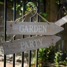 Fabulous Secret Garden Party Reception On A Budget - VIs-Wed Secret Garden Parties, Bohemian Party, Al Fresco Dining, Garden Theme, White Gardens, California Wedding, Wooden Signs, Wooden Art, Decoration