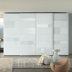 sliding doors elegant wardrobe design white interior ideas bedrooms