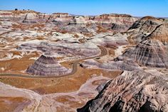 Petrified Forest National Park   by Bob C. Anderson Petrified Forest National Park, Monument Valley, Grand Canyon, National Parks, Bob, Hiking, Vacation, Nature, Travel