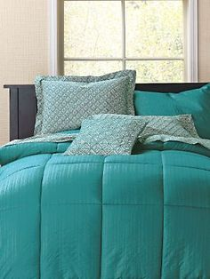 Classic Percale Print Comforter Cover | LinenSource