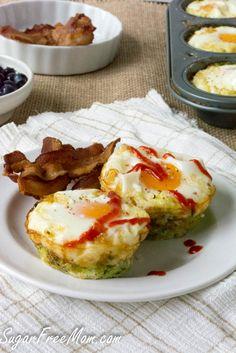 Baked+Zucchini+Egg+Nests