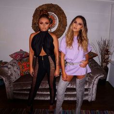 Jesy Nelson & Perrie Edwards - Pintrest: @ambercp1997
