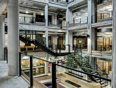 Campbell Ewald Headquarters | Architect Magazine | Neumann/Smith Architecture, Detroit, MI, USA, Commercial, Office, Adaptive Reuse, Interiors, Renovation/Remodel, adaptive reuse, renovation, AIA - Local Awards 2015, AIA - State/Regional Awards 2015