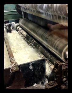Winter & Bract's spinning factory