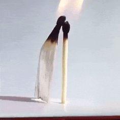 Toca dos Gifs: Nosso amor  é fogo