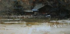 Lost and Forgotten. Oil on linen, 20 x 10in. Tibor Nagy