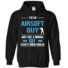 Cool Airsoft guy - #anniversary gift #candy gift. THE BEST => https://www.sunfrog.com/LifeStyle/Cool-Airsoft-guy-8540-Black-20513221-Hoodie.html?68278
