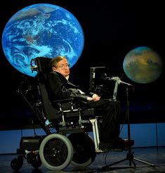 Professor Stephen Hawking - British theoretical physicist noted for his research into the origin of the universe. His work influenced the development of the big bang and black hole theories. Cosmos, Professor Stephen Hawking, Stephen Hawking Young, Einstein, Pseudo Science, Weird Science, Science Fair, Theory Of Evolution, Quantum Physics