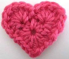 Maggie's Crochet · Small Heart - Free Crochet Pattern