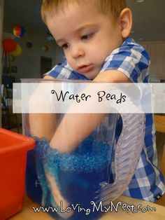Water bead exploration