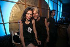 Nina Kraviz and Richie Hawtin