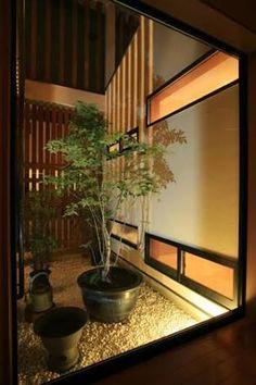 「モダン  住宅  坪庭」の画像検索結果