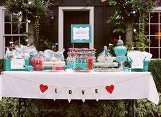 Inspirações para casamento vermelho e turquesa | Casar é um barato - Blog de casamento