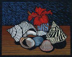 Still Life - Linocuts — Rachel Newling
