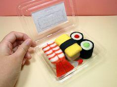 felt sushi | Tumblr