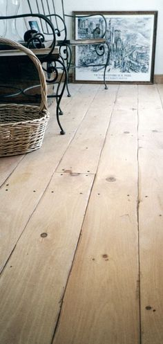 rustic white pine floor - carlisle floors