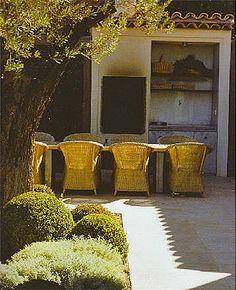 alfresco Outdoor Rooms, Outdoor Living, Outdoor Furniture, Grey Interior Design, Modern Design, Alfresco Designs, Sweet Home, Seating Areas, Architecture