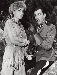 American actress and singer Ann Blyth and American actor and singer Howard Keel acting in Rose Marie. 1954 Get premium, high resolution news photos at Getty Images Hollywood Stars, Classic Hollywood, Old Hollywood, Z Movie, Movie Photo, Ann Blyth, Hollywood Actresses, Actors & Actresses, Indian Love Call
