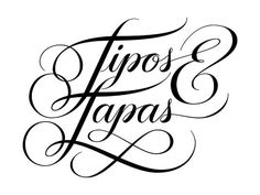 Tipos&Tapas by Jackson Alves, via Behance